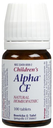 (Boericke & Tafel Children's Alpha CF Tabs-100 ct)