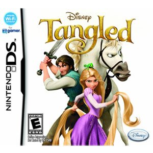 The Best Disney Tangled (Nintendo DS)-1858 - A damsel in distress becomes a damsel in action in this game inspired by the Disney animated film. Tangled reinvents the classic fairy tale by getting Rapunzel out of her tower and into an adventure with a swas by Generic