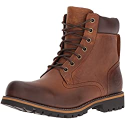 Timberland Men's Earthkeepers Rugged Boot, Red Brown, 9.5 M US