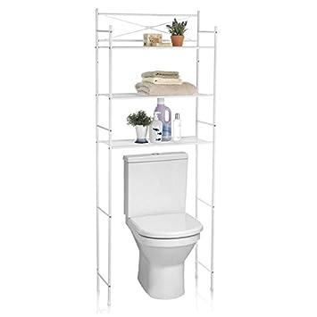 meuble metal pour toilette