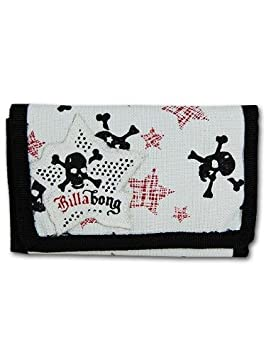 Billabong mujer Sid cartera monedero Blanco blanco: Amazon ...