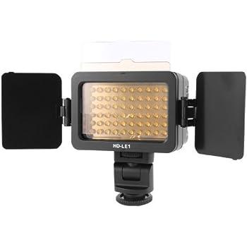 Photo Studio Camera 60 LEDs da bateria Luz de vídeo HD-le1 para