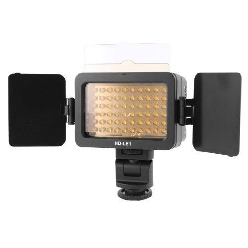 eDealMax Foto del estudio de la cmara de vdeo Con batera 60 LED de luz HD-LE1 Para