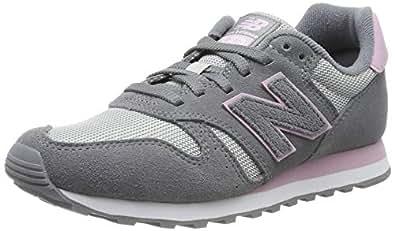 New Balance 373 Womens Grey/Pink Trainers-UK 6 / EU 39