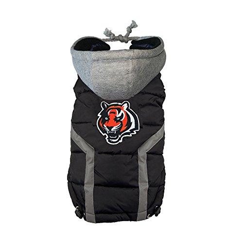 Littlearth NFL Cincinnati Bengals - Chaleco de arnés para perro, Pequeño