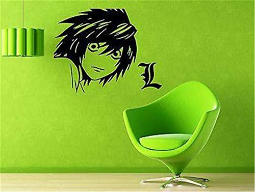 Wall Sticker Inspirational Quotes Japanese Cartoon Teen Death Note Anime Manga
