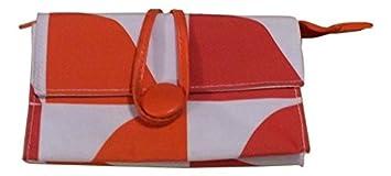 Clinique Naranja y Blanco Bolsa De Maquillaje: Amazon.es ...