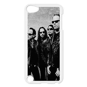 iPod Touch 5 Case White Metallica Band Members P8K8UK