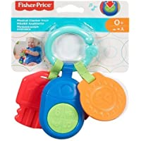 Fisher-Price Musical Clacker Keys Toy, Multi-coloured