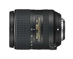 Nikon AFS DX 18-300 f/3.5-6.3G Lens ED VR Australian Warranty, Black (JAA821DA)