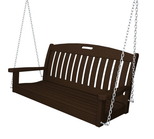 Mahogany Patio Furniture (POLYWOOD NS48MA Nautical 48