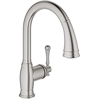 Bridgeford Single Handle Pull Down Kitchen Faucet With