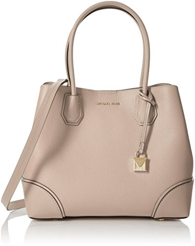 Michael Kors Mercer Medium Leather Satchel - Soft Pink (Soft Large Leather Satchel)