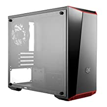 Cooler Master MCW-L3B3-KANN-01 MasterBox Lite 3.1 mATX Case with Dark Mirror Front, Acrylic Side Panel, Customizable Trim Colors