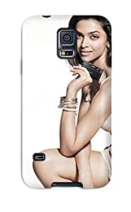 High Quality Shock Absorbing Case For Galaxy S5-deepika Padukone 2011