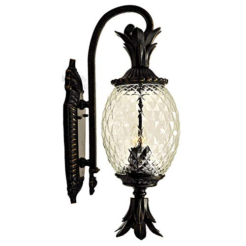 Pineapple Outdoor Light Sconces in US - 8
