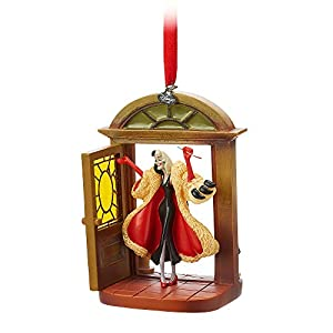Disney Cruella Devil Sketchbook Ornament – 101 Dalmatians