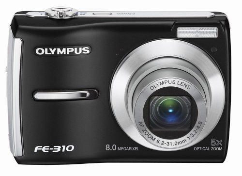 (Olympus FE-310 8MP Digital Camera with 5x Optical Zoom (Black))