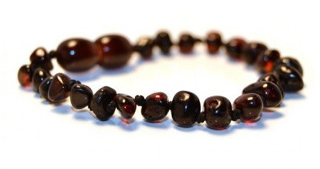 Certified Baltic Amber Bracelet 5.5 Inch - (Cherry) - (Advantage Natural Cherry)