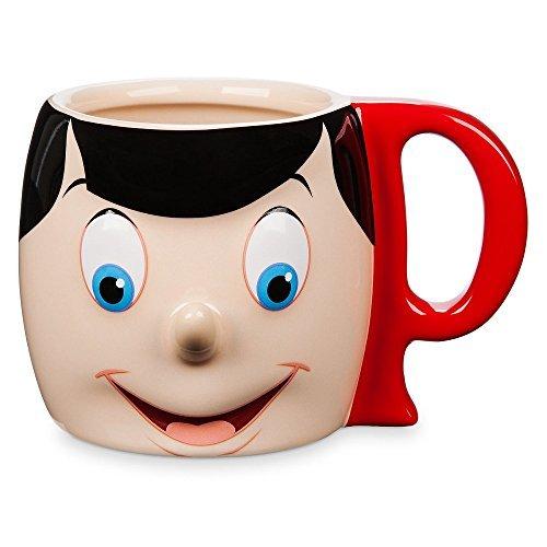 Mug Figural - Pinocchio Figural Mug Ceramic 12 Oz