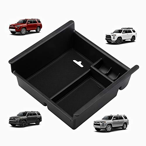Seven Sparta Center Console Tray for Toyota 4runner 2010-2019 Insert ABS Tray Armrest Box Secondary Storage Organizer