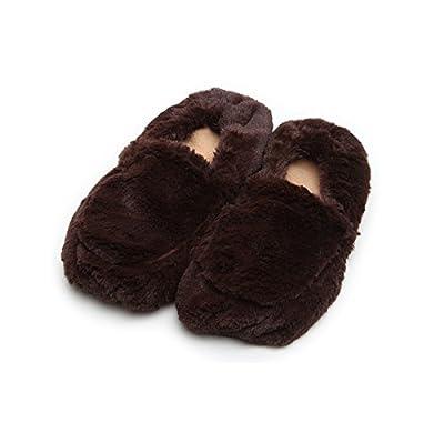 Intelex Cozy Body Slippers, Brown