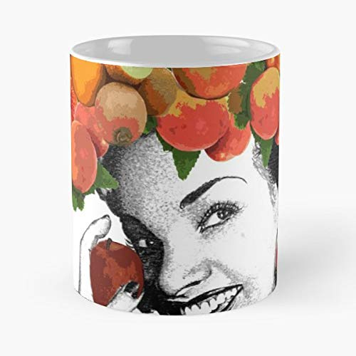 Carmen Miranda Fruit Hat Undefined - Ceramic Novelty Cup Best Gift For Father Day