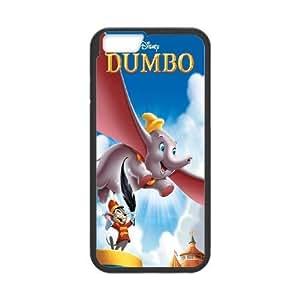 iPhone6s Plus 5.5 inch Phone Case Black Dumbo WQ5RT7529323