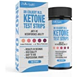 Dr.Colbert's Keto Zone Ketone Test Strips -Test Keto Zone Levels When On Keto Zone Diet - 100 Strips