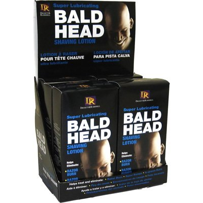 Daggett And Ramsdell Bald Head Shaving Lotion (Pack of 6) Fiske Industries Inc.