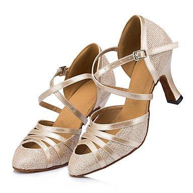 Chunky UK7 5 ballo Sneakers Non Heel scarpe izable US9 5 CN42 10 donne's EU41 8 Aemember da Gold pratica latino xxa08w