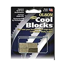 Olson Saw CB50050BL Imported 14-Inch Band Saw Accessory Cool Blocks