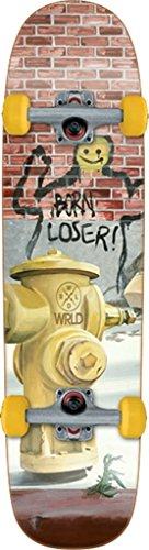 Skateboards Complete World Industries - World Industries Born Loser Complete Skateboard Cruiser - 8