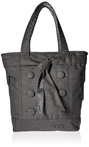 Pocket Tote Lined Two Fully (OGIO Hamptons Tote, Gray)