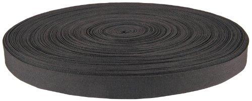 Gourd Bias Tape Nylon Binding Closeout, 100 Yards Length (Black, 3/4-inch Width)