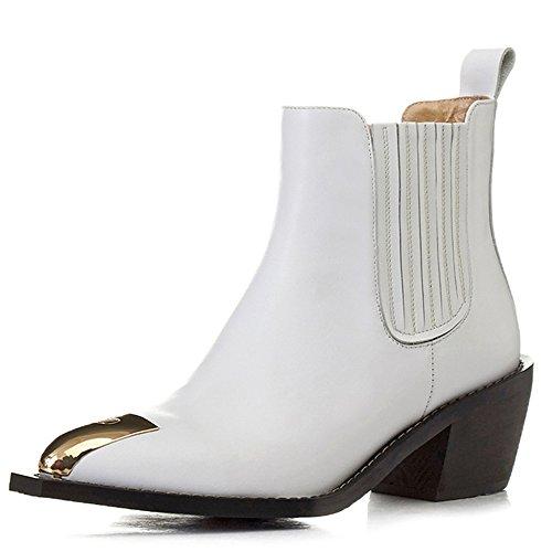Nine SevenAnkle Boots - Botas mujer blanco