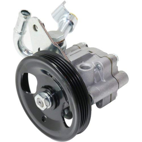 (Power Steering Pump compatible with Nissan Murano 2003-2007 w/Pulley Bracket and Oil Pipe )