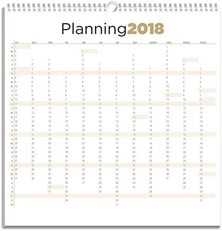 Grupo Erik Editores Calendario 2018 30X30 Generico: Amazon.es ...