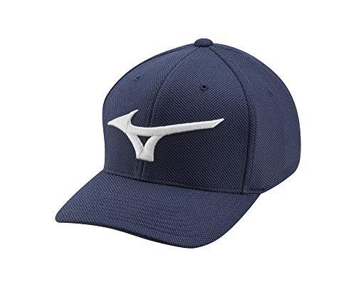 Mizuno Tour Performance Golf Hat, Navy, One Size (6 7/8