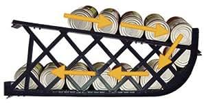 "Shelf Reliance Harvest 72"" #10 Food Rotation System"