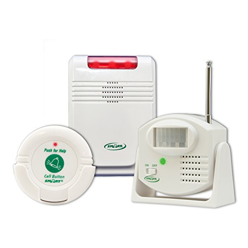 Smart Caregiver® Cordless Motion Sensor and Nurse Call System for Fall Prevention– Know when they need help or are…