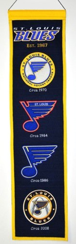 St. Louis Blues NHL Heritage Wool Banner