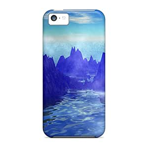 EGZLQfy5089cBrgB Case Cover Protector For Iphone 5c Hot Springs Case