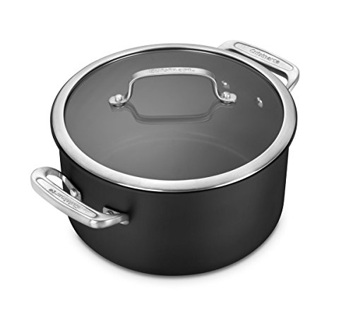 Cuisinart DSI66-24 6 Qt Stockpot w/cover DS Induction Dishwasher Safe Hard Anodized Non Stick