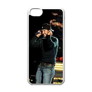 I-Cu-Le Print Luke bryan Pattern PC Hard Case for iPhone 5C