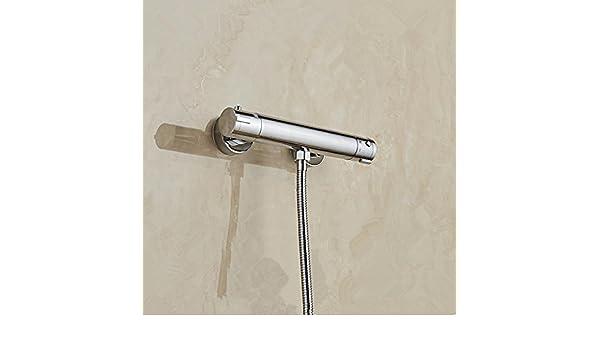 Bijjaladeva Cascada Grifo del Fregadero del baño El Grifo de la Ducha termostática de Agua Solar Calentador de Agua eléctrico válvula mezcladora ...