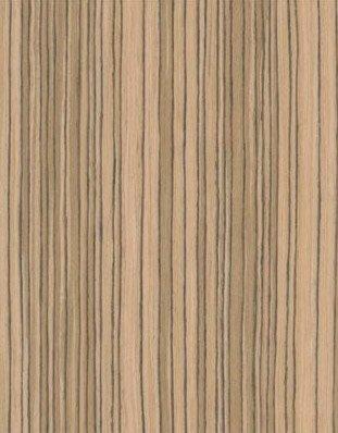 Zebrawood Wood Veneer Qtd Cut - Recon 4x8 10 mil (Paperback) Sheet Pattern D002