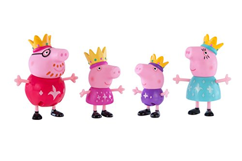 Peppa Pig Royal Family 4-Figure Pack
