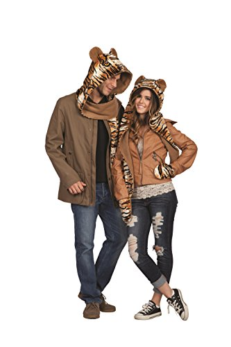 RG Costumes Women's Lux The Cheetah 'scatz', Black/Brown/Tan, One Size (Cheetah Costumes For Adults)