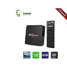 Upgrade MXQ PRO 4K Android 6.0 TV Box,Smart Mini Pc Quad Core Lollipop Amlogic S905X 1GB/8GB 2.4G WIFI HDMI Media Player